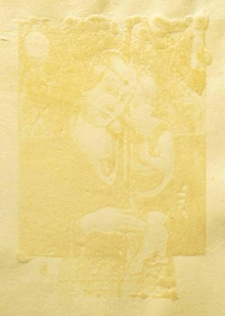 """""""Madonna and Child (after Crivelli),"""" 2003, by Jeff Feld - COURTESY OF FROG HOLLOW VERMONT CRAFT GALLERY"""