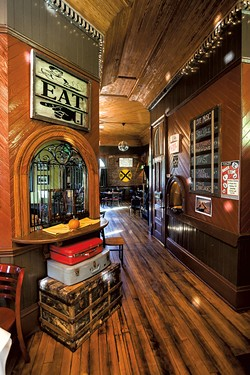 The bar at Windsor Station Restaurant & Barroom - TOM MCNEILL