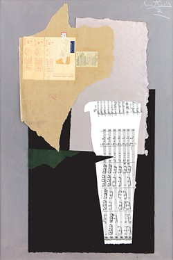"""""""Music for Monique"""" by Robert Motherwell - COURTESY OF FLEMING MUSEUM OF ART"""