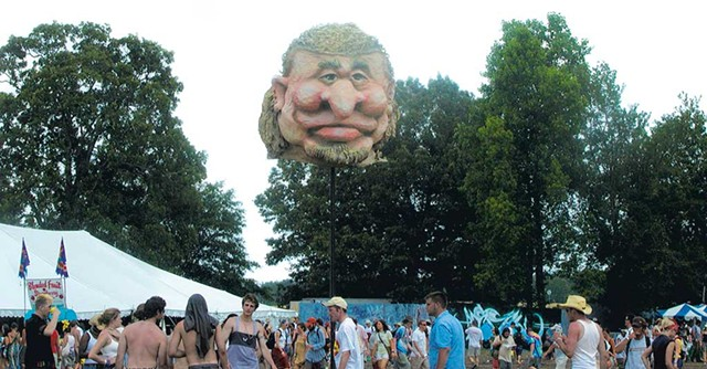 Bobblehead at Bonnaroo - COURTESY OF RUSS BENNETT