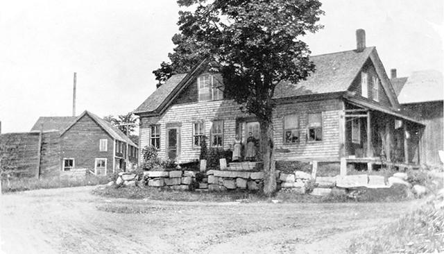 Site of the Adamant Co-op, circa 1908 - COURTESY OF DENNIS BÁTHORY-KITSZ