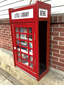 The Bethel Little Free Library - KIRK KARDASHIAN
