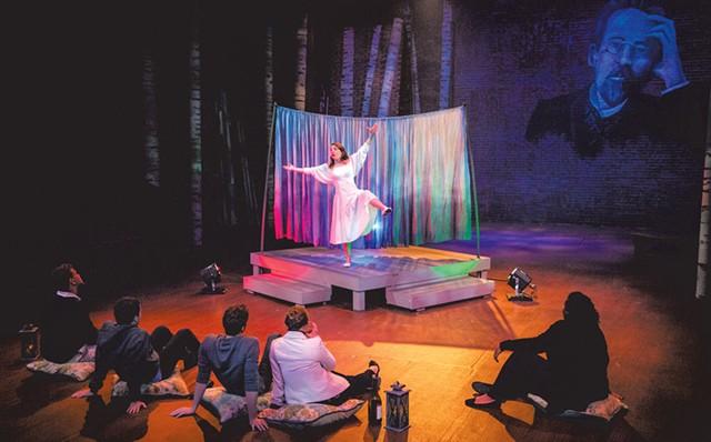 Dani Knight as Nina - COURTESY OF UVM DEPARTMENT OF THEATRE