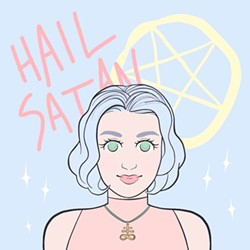 """Illustration for """"A Beginner's Guide to Satanism"""" - HALEY CLEMENS"""