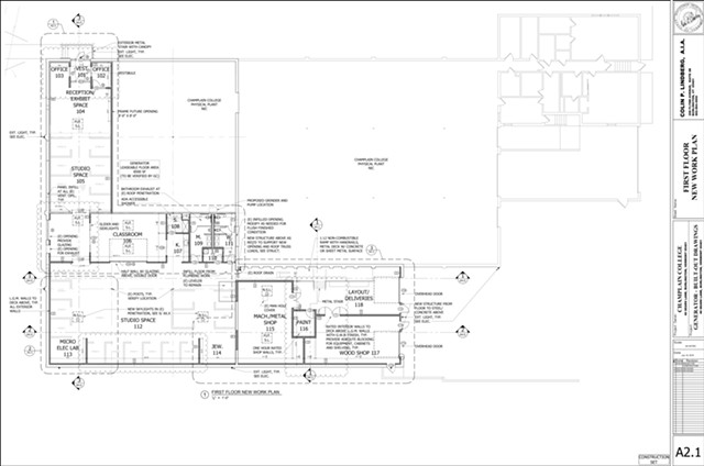 A floor plan for the new incarnation of Generator - GENERATOR