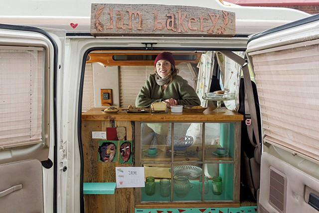 Shiel Worcester of Jam Bakery - OLIVER PARINI