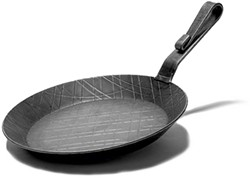 Turk Criss-Cross Iron Fry Pan