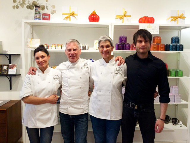 Left to right: Virginia, Kevin, Laura and Rowan Toohey of Bijou Fine Chocolate - JULIA CLANCY