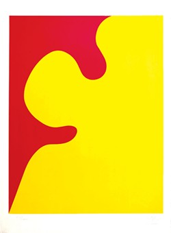 """""""Affiche St. Gallen I"""" by Jean Arp - COURTESY OF ARTISTS RIGHTS SOCIETY/THE ROUTHIER COLLECTION"""