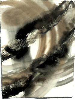 "Drawings from ""Deluge"" series by Brenda Garand - COURTESY OF BRENDA GARAND"