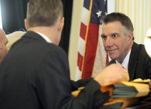 Governor-elect Phil Scott - FILE: JEB WALLACE-BRODEUR