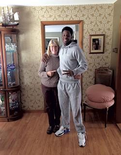 Cam Whittemore and Omari Brown - COURTESY OF OMARI BROWN