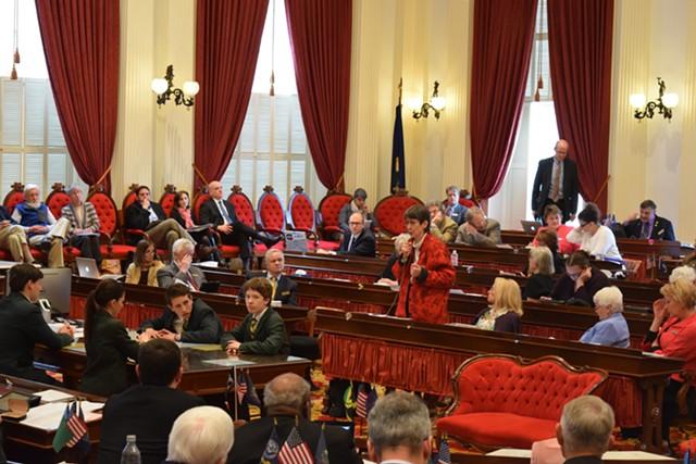 Vermont legislators debating the end-of-life law - FILE: TERRI HALLENBECK