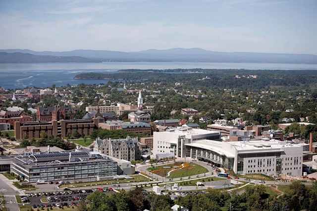 University of Vermont Medical Center main campus - COURTESY OF UNIVERSITY OF VERMONT MEDICAL CENTER