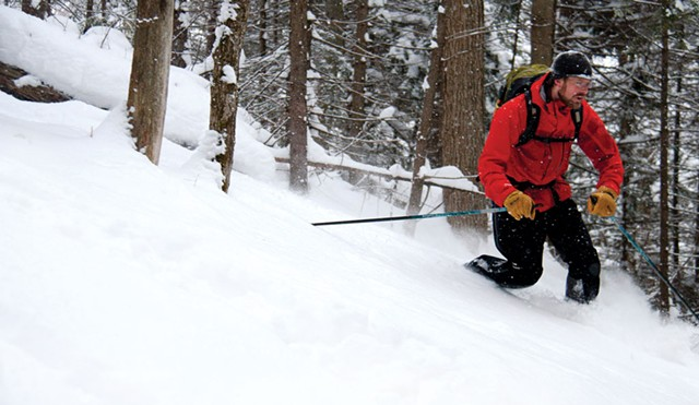 Skiing at Trapp Family Lodge - FILE: BRIAN MOHR