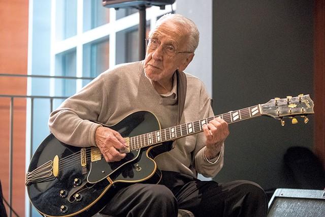 Mike Martello playing at the Burlington Marriott - JAMES BUCK