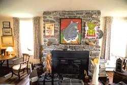 Bill Brooks' New Haven farmhouse - CALEB KENNA