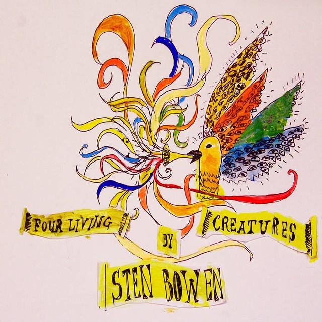 Sten Bowen, Four Living Creatures - COURTESY OF STEN BOWEN