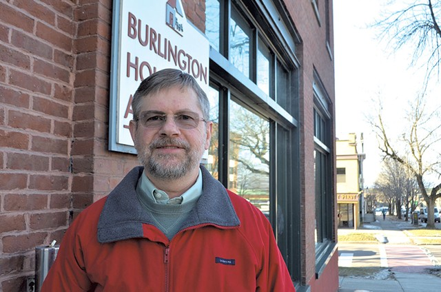 Mike Knauer, chair of the Burlington Housing Authority Board - MOLLY WALSH