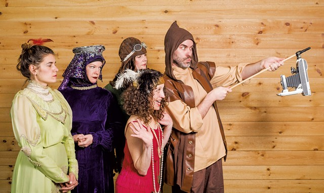 Stealing From Work sketch comedy troupe - COURTESY OF JOSH LARKIN