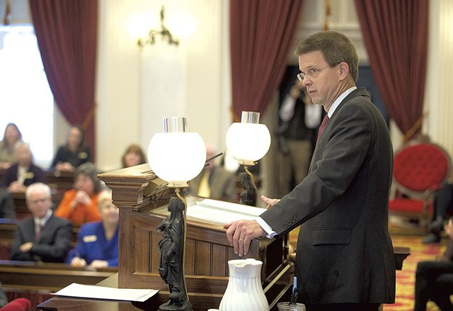 House Speaker Shap Smith - JEB WALLACE-BRODEUR