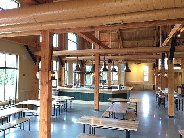 Inside the von Trapp Bierhall - COURTESY OF VON TRAPP BIERHALL