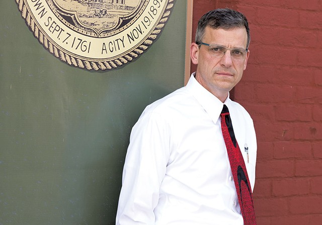 Rutland Mayor Chris Louras - FILE: CALEB KENNA