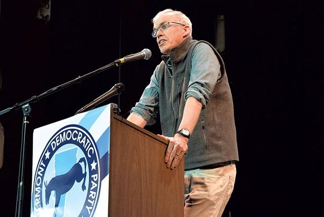 Bill McKibben - FILE: TERRI HALLENBECK