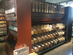 The bulk section at Commodities Natural Market - SUZANNE PODHAIZER