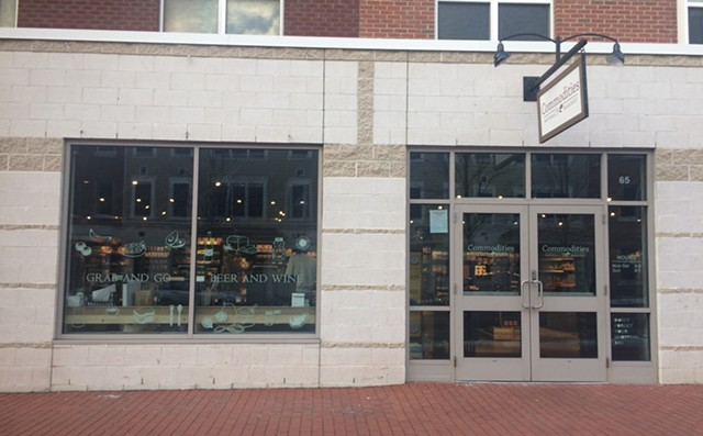 The Commodities Natural Market storefront - SUZANNE PODHAIZER