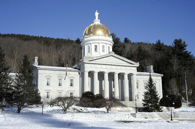 Vermont Statehouse - FILE: JEB WALLACE-BRODEUR