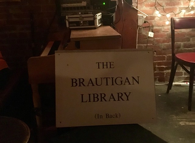 Brautigan Library courtesy of Todd Lockwood - SADIE WILLIAMS