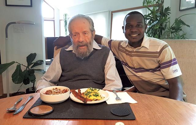 Bud Perrine and Francis Manga - COURTESY OF FRANCIS MANGA