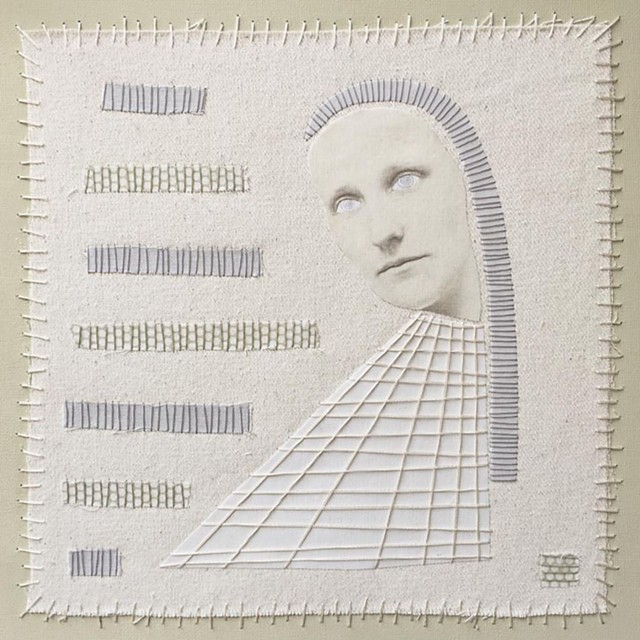 Mixed-media collage by Athena Petra Tasiopoulos - COURTESY OF STUDIO PLACE ARTS