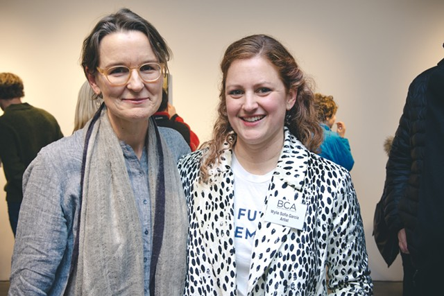 Artists Elise Whittemore and Wylie Sofia Garcia - COURTESY OF SAM SIMON