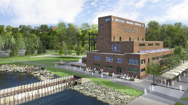 A rendering of the New Moran proposal - COURTESY