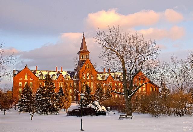 University of Vermont campus in Burlington - COURTESY