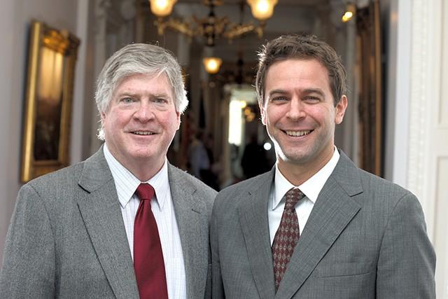 John Campbell and Tim Ashe - MATTHEW THORSEN