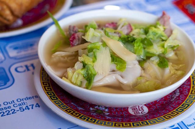 Wonton soup (to stay) - HANNAH PALMER EGAN
