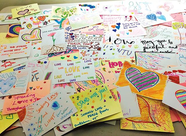 Cards made by Local Love Brigade — Vermont - ANN BEDICHEK BRADEN