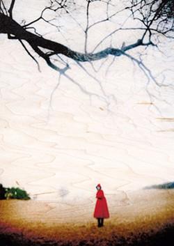 """""""Girl in Red Cloak"""" - COURTESY OF GOVENOR'S GALLERY"""