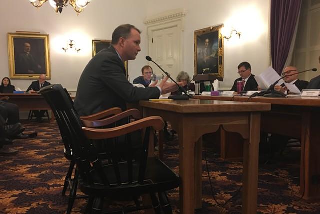 Attorney General T.J. Donovan testifying on S.79 - JOHN WALTERS