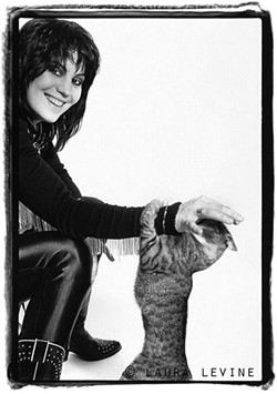 Joan Jett,1981 - PHOTO BY LAURA LEVINE