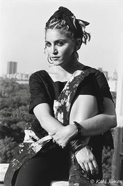 Madonna,1983 - PHOTO BY KATE SIMON