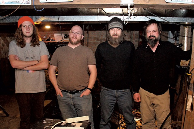 Left to right: Justus Gaston, Andy Frappier, Jedd Kettler and Ben Maddox - SHAWN CORROW