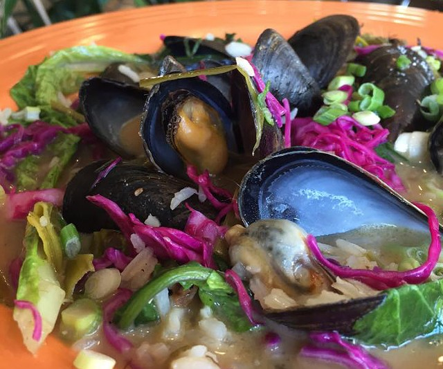 Mussels at the Spot - COURTESY OF THE SPOT