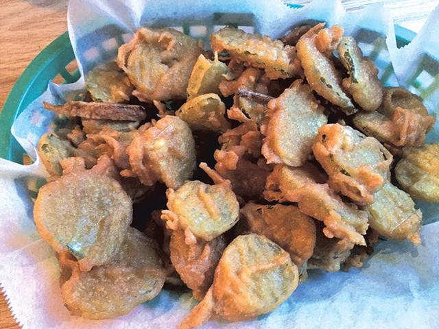 Fried pickles - HANNAH PALMER EGAN