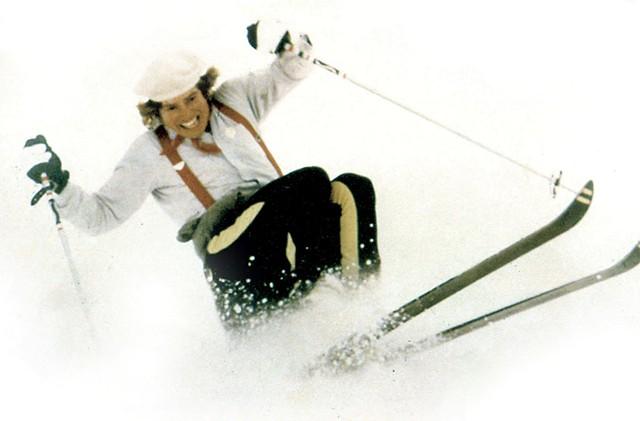Sparky Potter skiing - COURTESY OF SPARKY POTTER