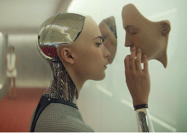 Image from the film Ex Machina - FILE