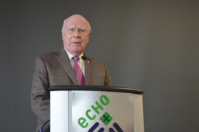 U.S. Sen. Patrick Leahy (D-Vt.) on Friday - ALICIA FREESE